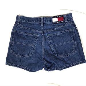 Vintage Tommy Hilfiger High Waisted Denim Shorts